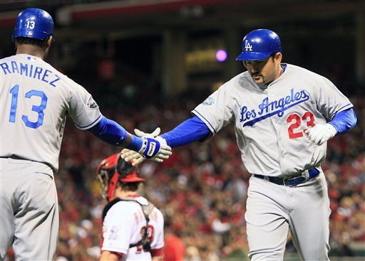 Dodgers beat Reds 5-3, keep pace for wild card