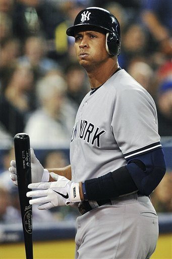 Alex Rodriguez is optimistic about being able to resume playing by the middle of the summer. (AP)