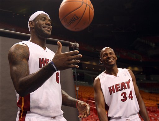 LeBron James: Champion Heat can be better