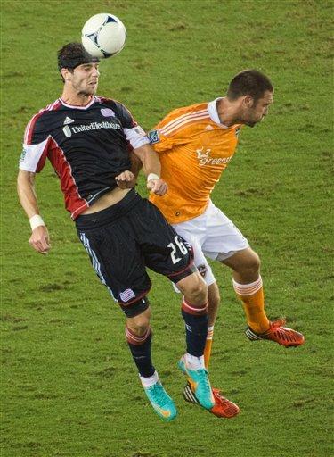 Clark, Garcia lead Dynamo past Revolution, 2-0