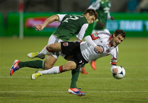 Dike lifts Timbers to 1-1 draw with DC United
