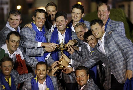 Europe hails Ryder Cup 'Miracle of Medinah'