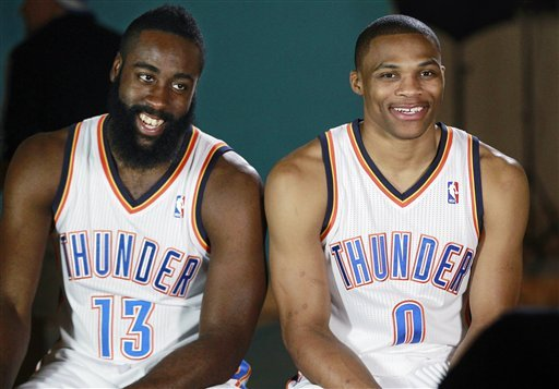 Harden holds out hope for extension with Thunder