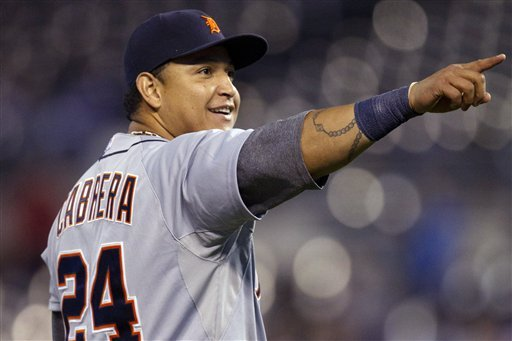 Tigers' Cabrera in pursuit of Triple Crown