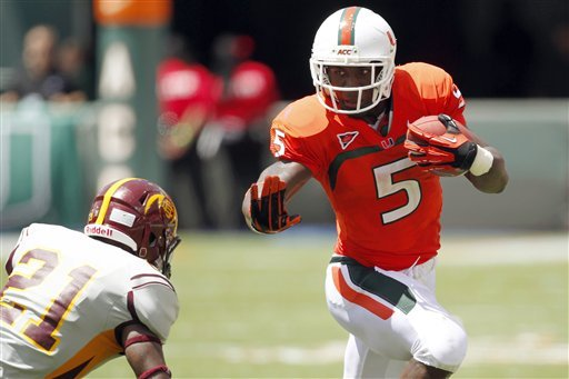 Miami offense bracing for Notre Dame test