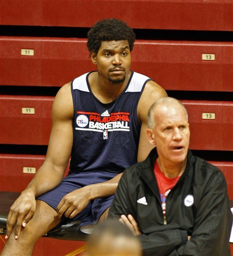 New-look 76ers open training camp without Bynum