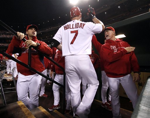 Cardinals clinch baseball's last postseason berth