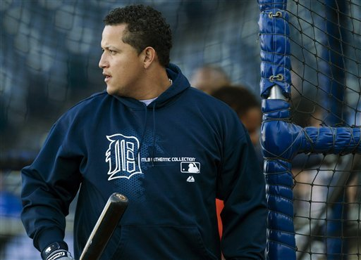 Tigers' Cabrera wins 1st Triple Crown in 45 years
