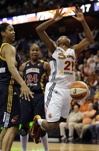 Sun beat Fever 76-64 in Eastern finals opener