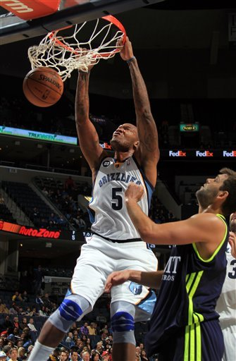 Gay's 27 points leads Memphis past Real Madrid