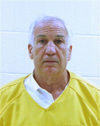 Sandusky gets at least 30 years, denies wrongdoing
