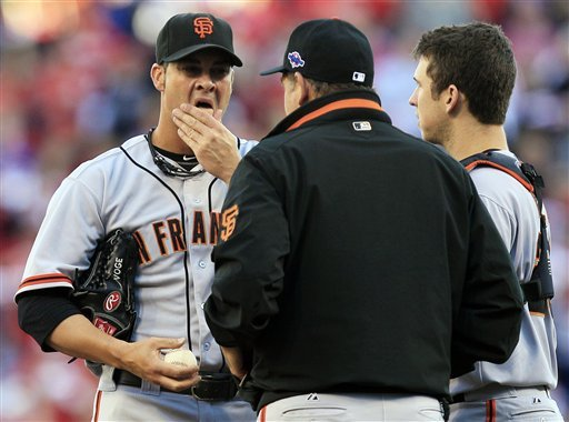 Zito has chance to pull Giants even with Reds