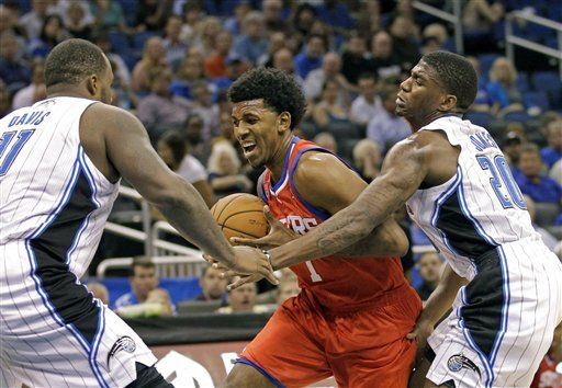 Jrue Holiday scores 27, Sixers down Magic 102-95