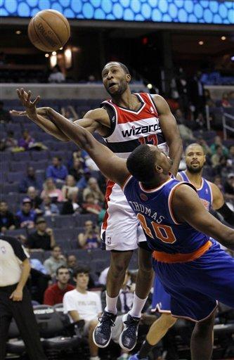 Knicks beat Wizards 108-101