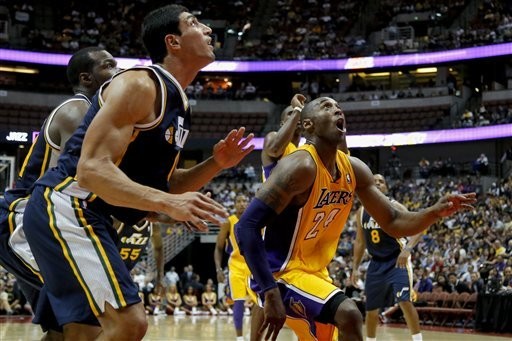 Jazz rout Gasol-less Lakers 114-80