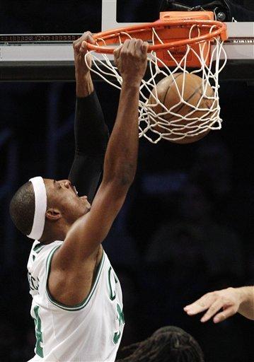 Celtics ruin Nets' return to national TV, 115-85