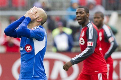 Revs beat Impact 1-0 in MLS season finale