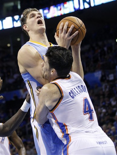 Thunder get starting 5 back, beat Nuggets 108-101