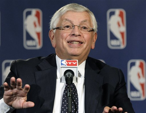 David Stern will step down as NBA commissioner on Feb. 1, 2014. (AP)