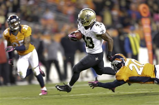 Manning throws for 305 yards, Broncos top Saints