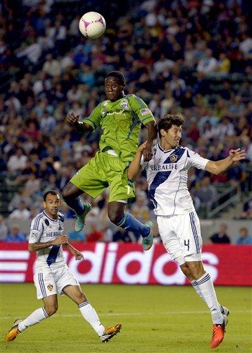 LA Galaxy top Seattle 1-0 in regular-season finale