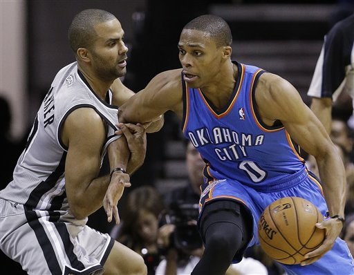 Parker's winner against Thunder quiets Harden talk