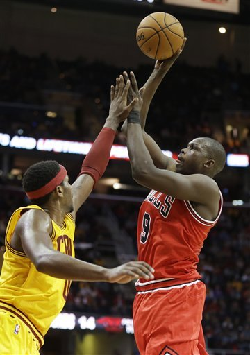 Hamilton, Boozer lead Bulls past Cavaliers 115-86