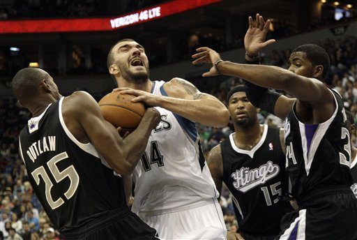 Barea sparks Timberwolves in 92-80 win vs. Kings