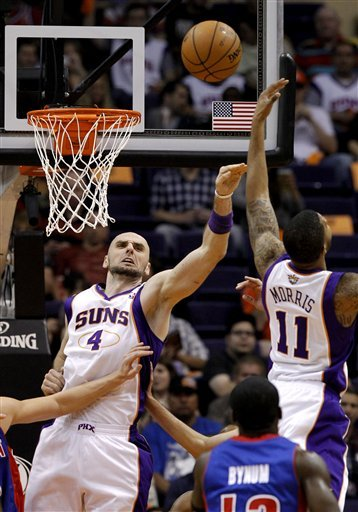 Gortat, Suns beat Pistons for 1st win of season