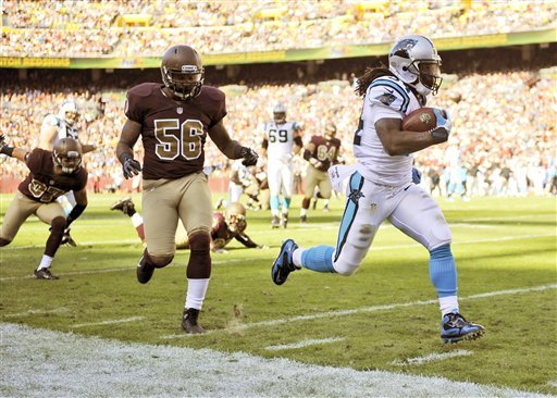 Panthers break 5-game skid, top Redskins 21-13