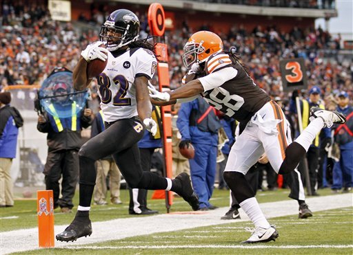 Ravens' Flacco now 10-0 vs. Browns with 25-15 win