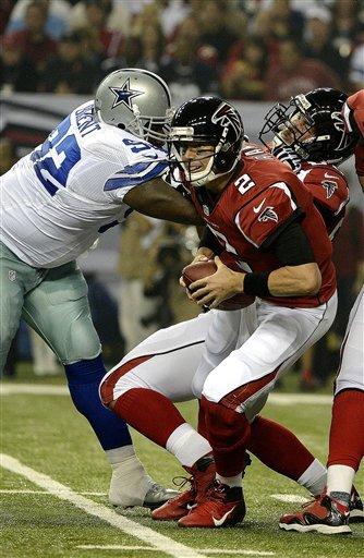 Turner helps unbeaten Falcons edge Cowboys 19-13