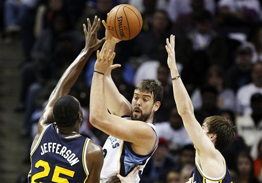 Grizzlies beat Jazz 103-94 in home opener