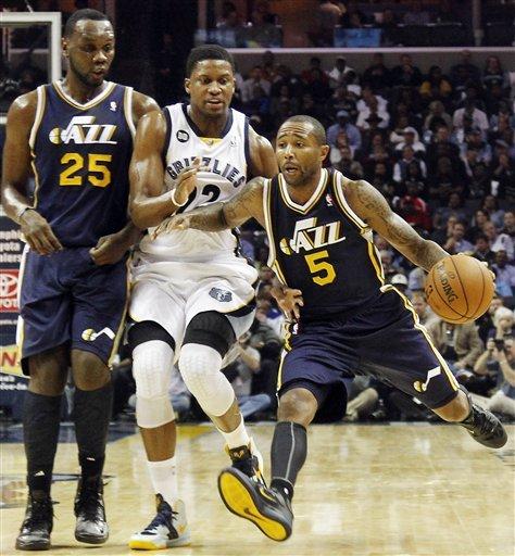 Grizzlies beat Jazz 103-94 in home opener