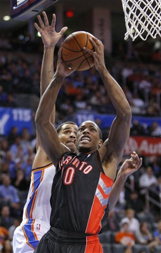 Westbrook leads Thunder past Raptors 108-88