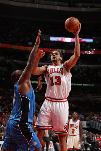 Post image for Deng, Noah Lead Bulls to Win Over Magic