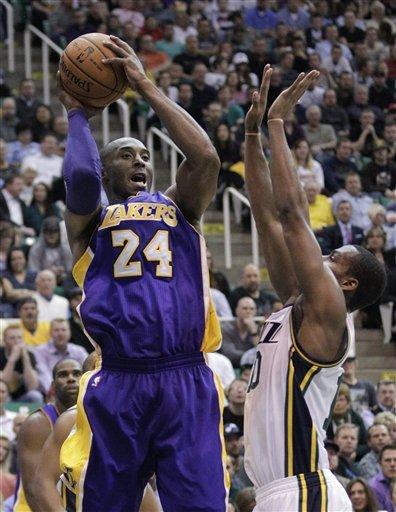 Foye, Jazz drop Lakers to 1-4 start