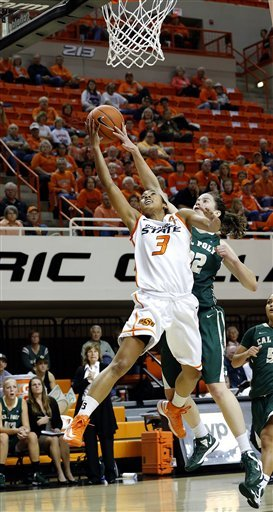 No. 23 Oklahoma State beats Cal Poly 90-59