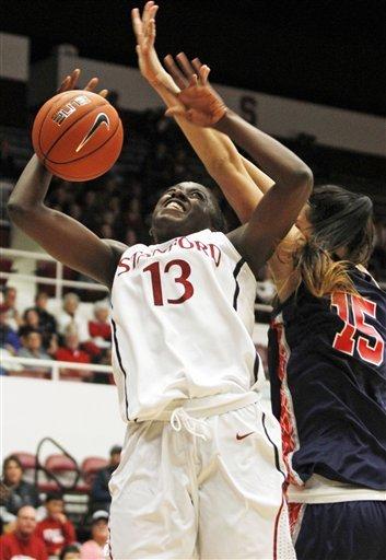 No. 4 Stanford women beat Fresno State 72-61