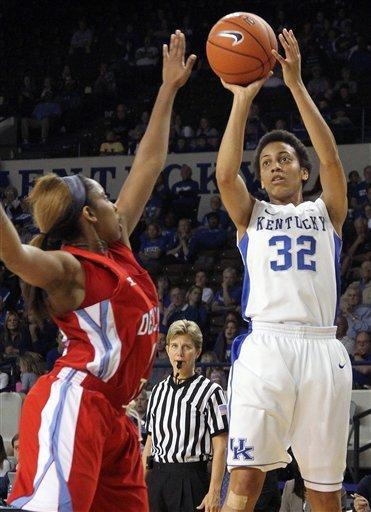 No. 6 Kentucky women beat Delaware State 90-50
