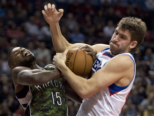 76ers win third straight, beat Raptors 93-83