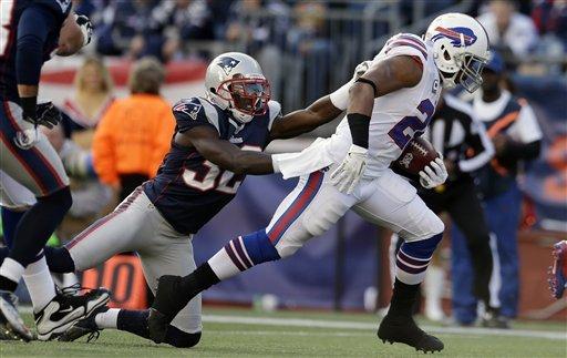 Brady's 2 TD passes lead Pats over Bills 37-31