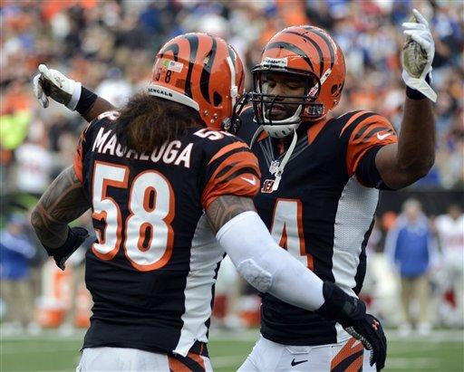 Dalton's 4 TDs lead Bengals over Giants 31-13