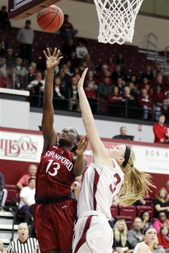 Ogwumike leads No. 4 Stanford past Santa Clara