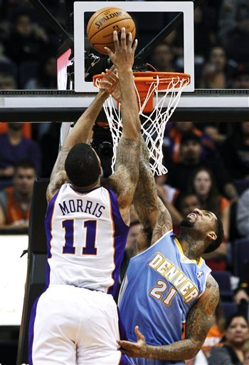 Dragic, Suns snap Denver's 4-game streak 110-100