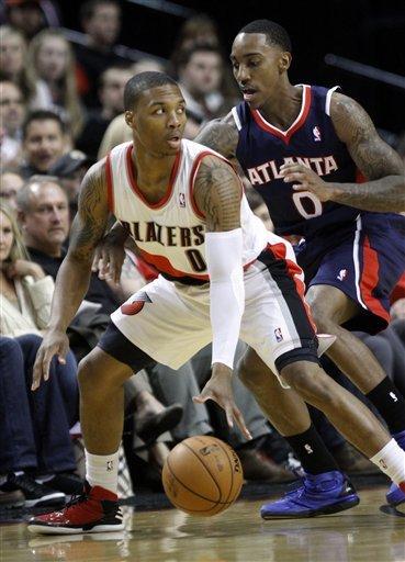 Smith leads Hawks to 95-87 win over Trail Blazers