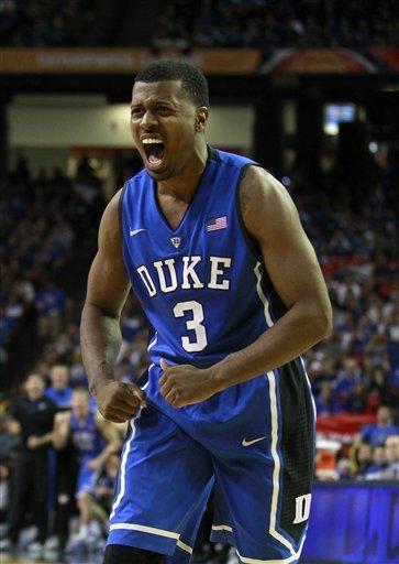 Curry scores 23, Duke holds off Kentucky 75-68