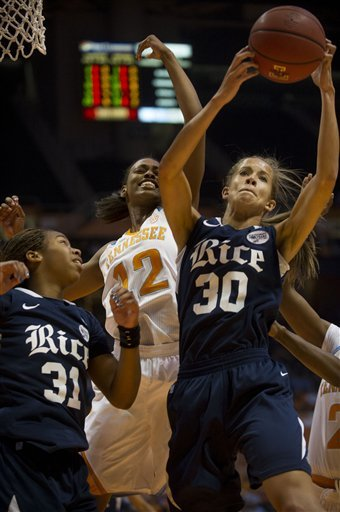 No. 24 Lady Vols pummel Rice 101-48 in home opener