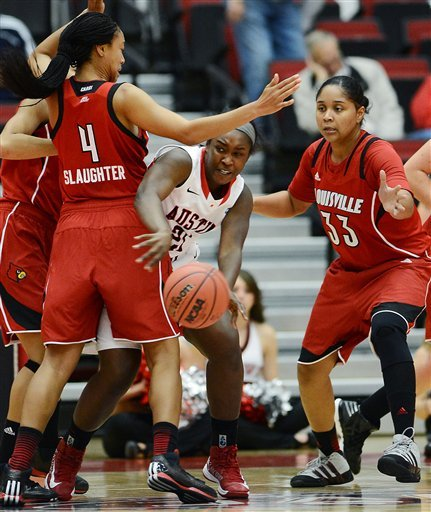 No. 8 Louisville women rout Austin Peay 90-52