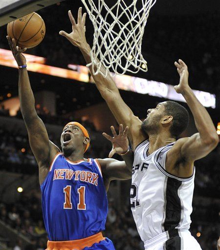 Felton, unbeaten Knicks rally past Spurs 104-100